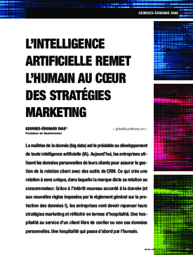 L'intelligence artificielle remet l'humain au cœur des stratégies marketing
