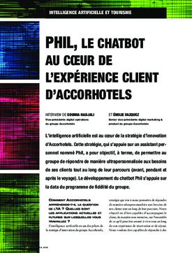 Phil, le chatbot au cœur de l'expérience client d'Accorhotels