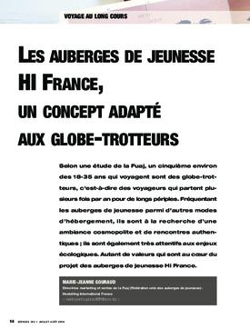 Les auberges de jeunesse HI France, un concept adapté aux globe-trotteurs