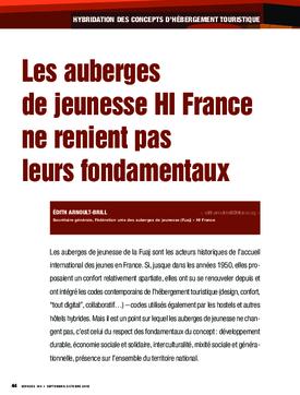 Les auberges de jeunesse HI France ne renient pas leurs fondamentaux