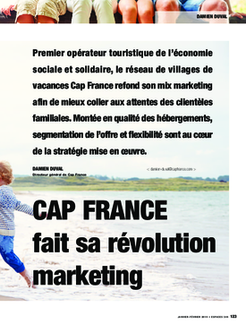 Cap France fait sa révolution marketing