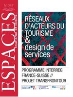 Réseaux d'acteurs du tourisme & design de services (programme Interreg France-Suisse // projet Transfrontour)