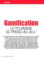 Gamification : le tourisme se prend au jeu !