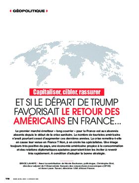 Et si le départ de Trump favorisait le retour des Américains en France...