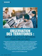 Observations des territoires : nouveaux outils et méthodes