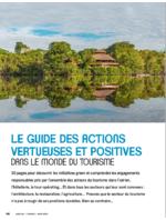 Le guide des actions vertueuses et positives dans le monde du tourisme