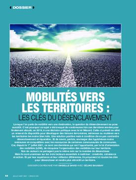 Mobilités vers les territoires : les clés du désenclavement
