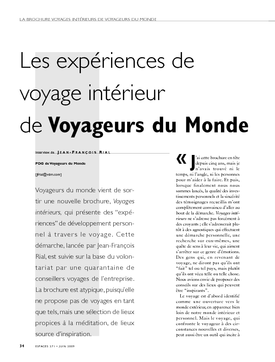 Les expériences de voyage intérieur de Voyageurs du Monde