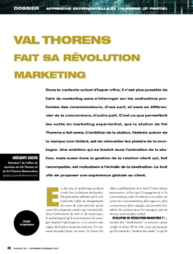 Val Thorens fait sa révolution marketing