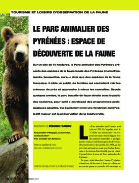 Le parc animalier des Pyrénées : espace de découverte de la faune