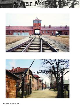 Ironie de l'Histoire. Visite touristique du camp d'Auschwitz