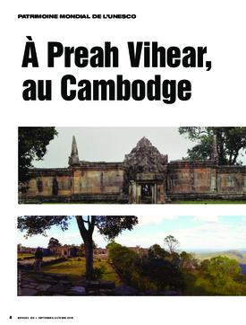 À Preah Vihear, au Cambodge, un musée de site pour un patrimoine exceptionnel
