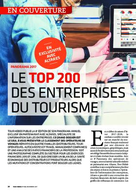 PANORAMA 2017 - Le Top 200 des entreprises du tourisme