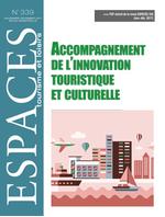 Accompagnement de l'innovation touristique et culturelle